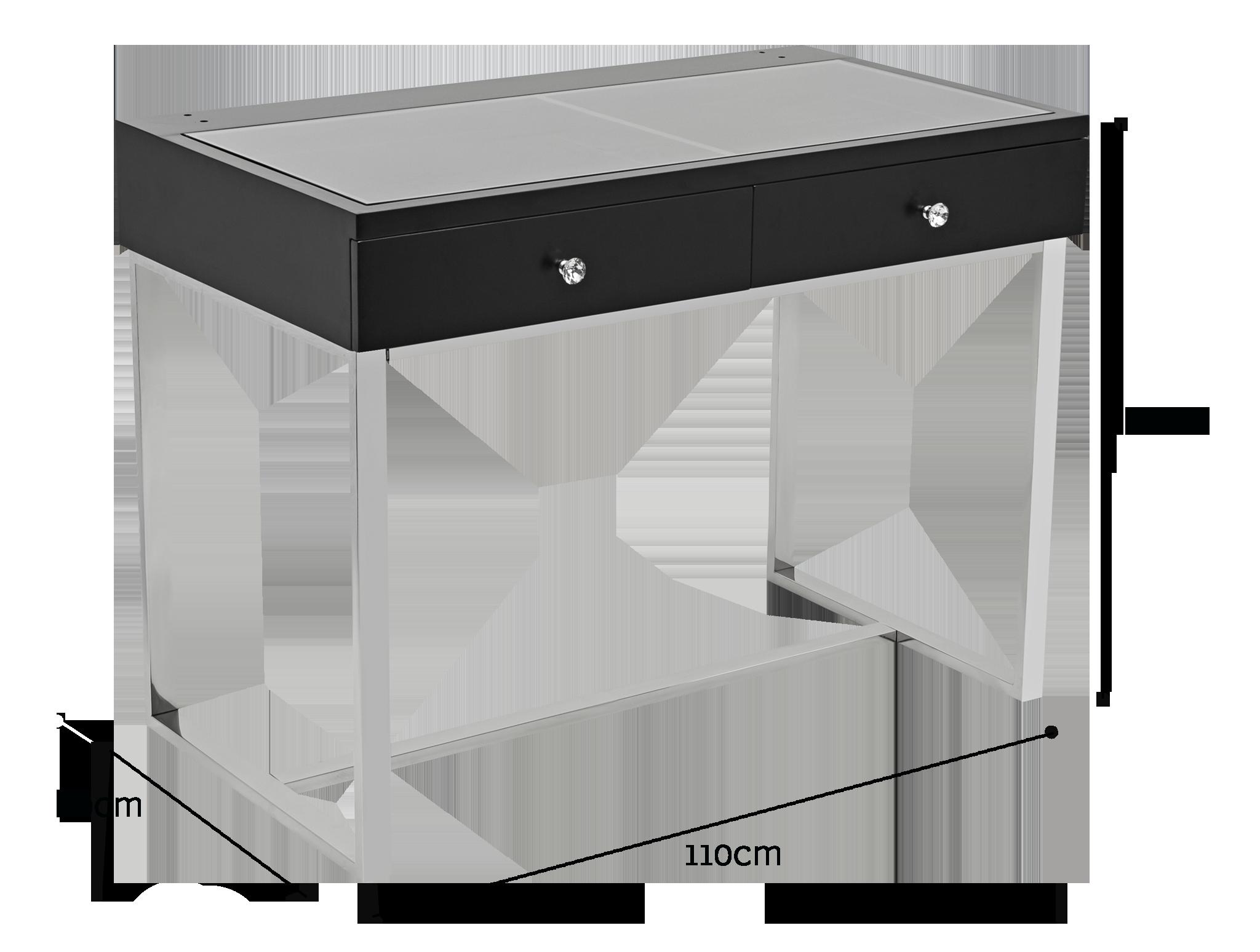 Iconic Vanity Table Black Etoile Collective